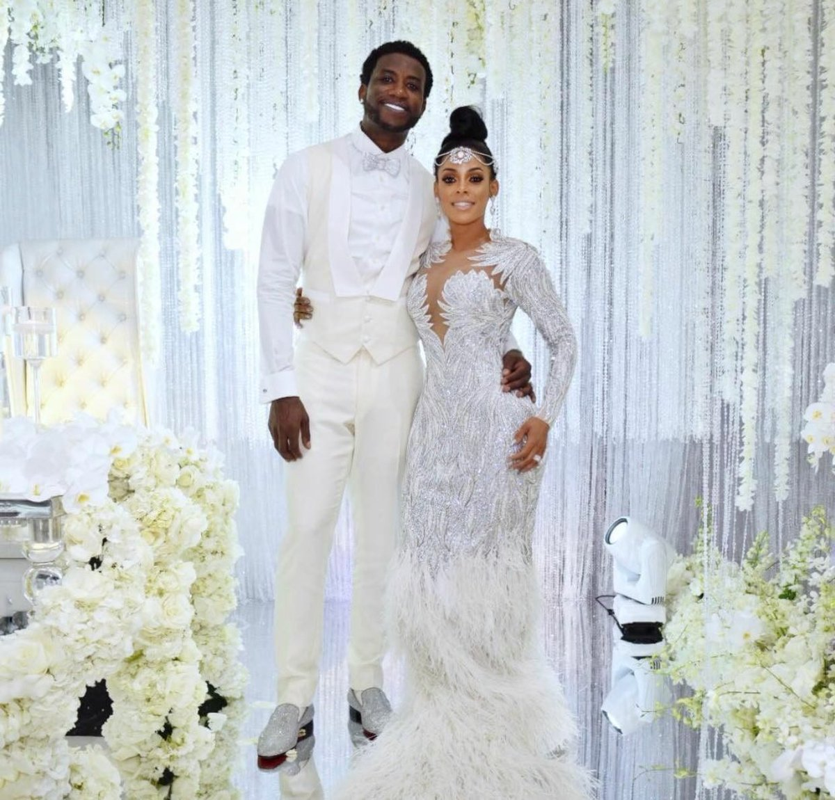 Wardrobe Breakdown: Gucci Mane & Keyshia Kaoir Wedding
