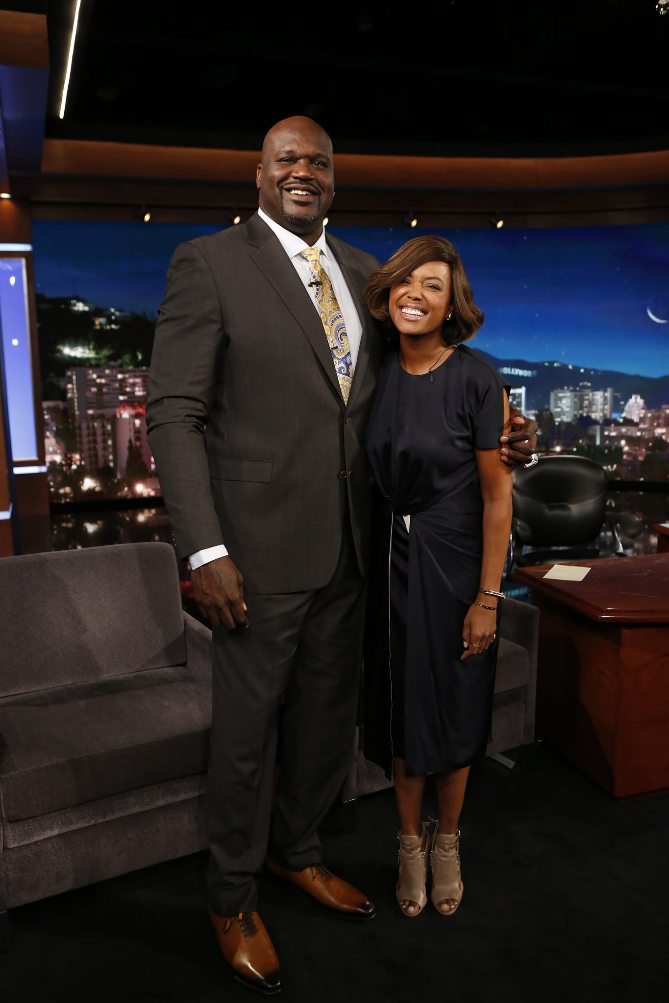 In Case You Missed It: Shaq Hosts Jimmy Kimmel Live