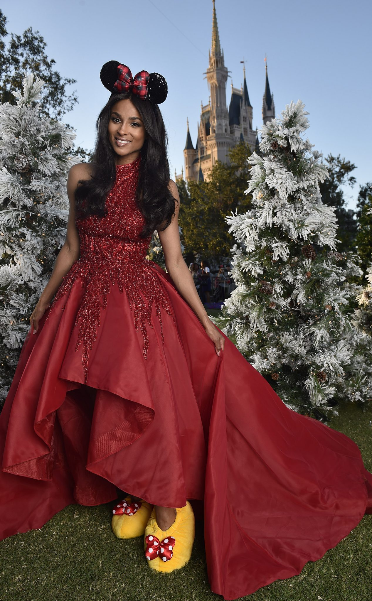 Wardrobe Breakdown: Ciara At Disney