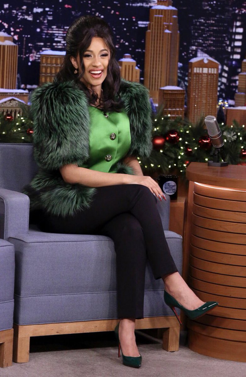 In Case You Missed It: Cardi B On The Tonight Show Starring Jimmy Fallon