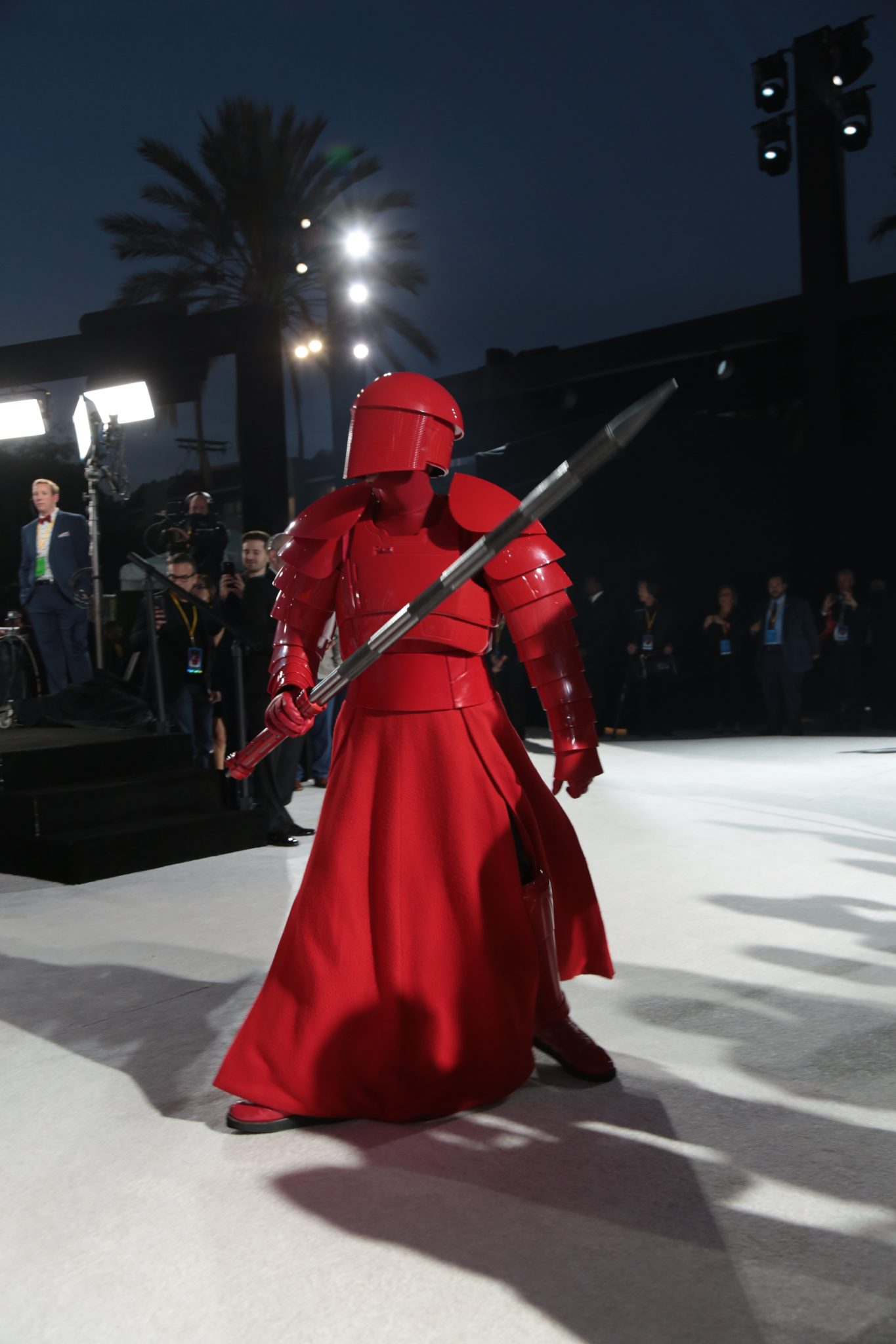 Star Wars The Last Jedi World Premiere Talking With Tami