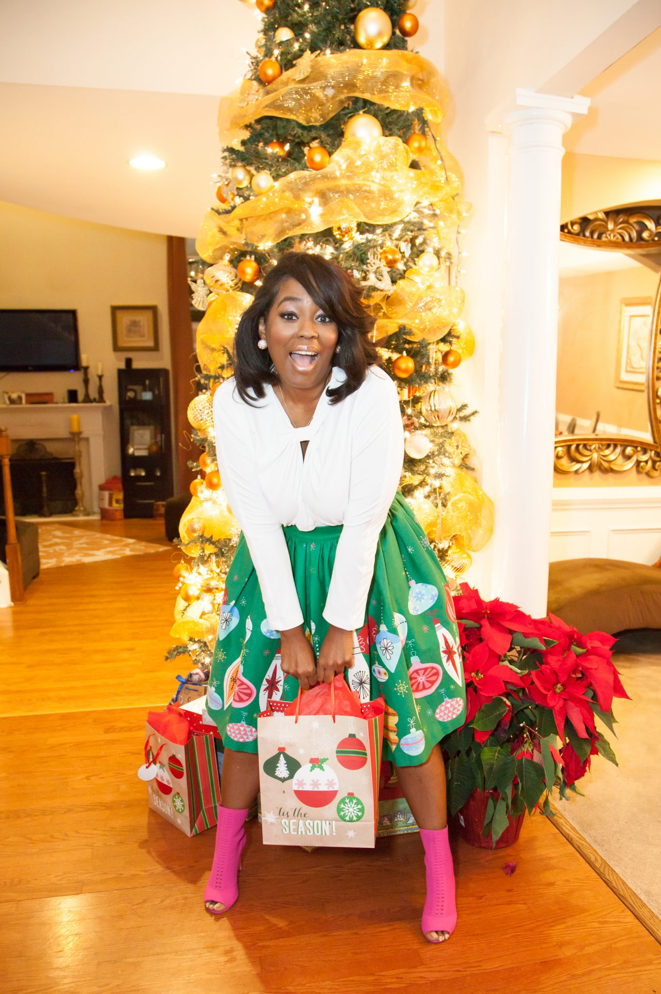 My Style: Pinup Couture Bella Ornament Border Skirt