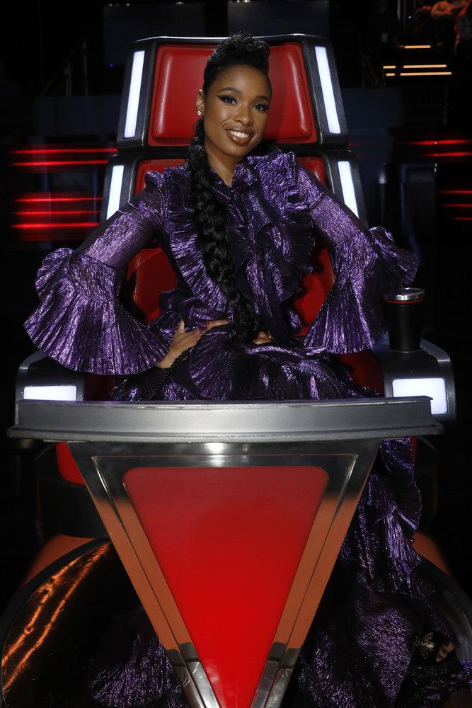 Wardrobe Breakdown: Jennifer Hudson On The Voice