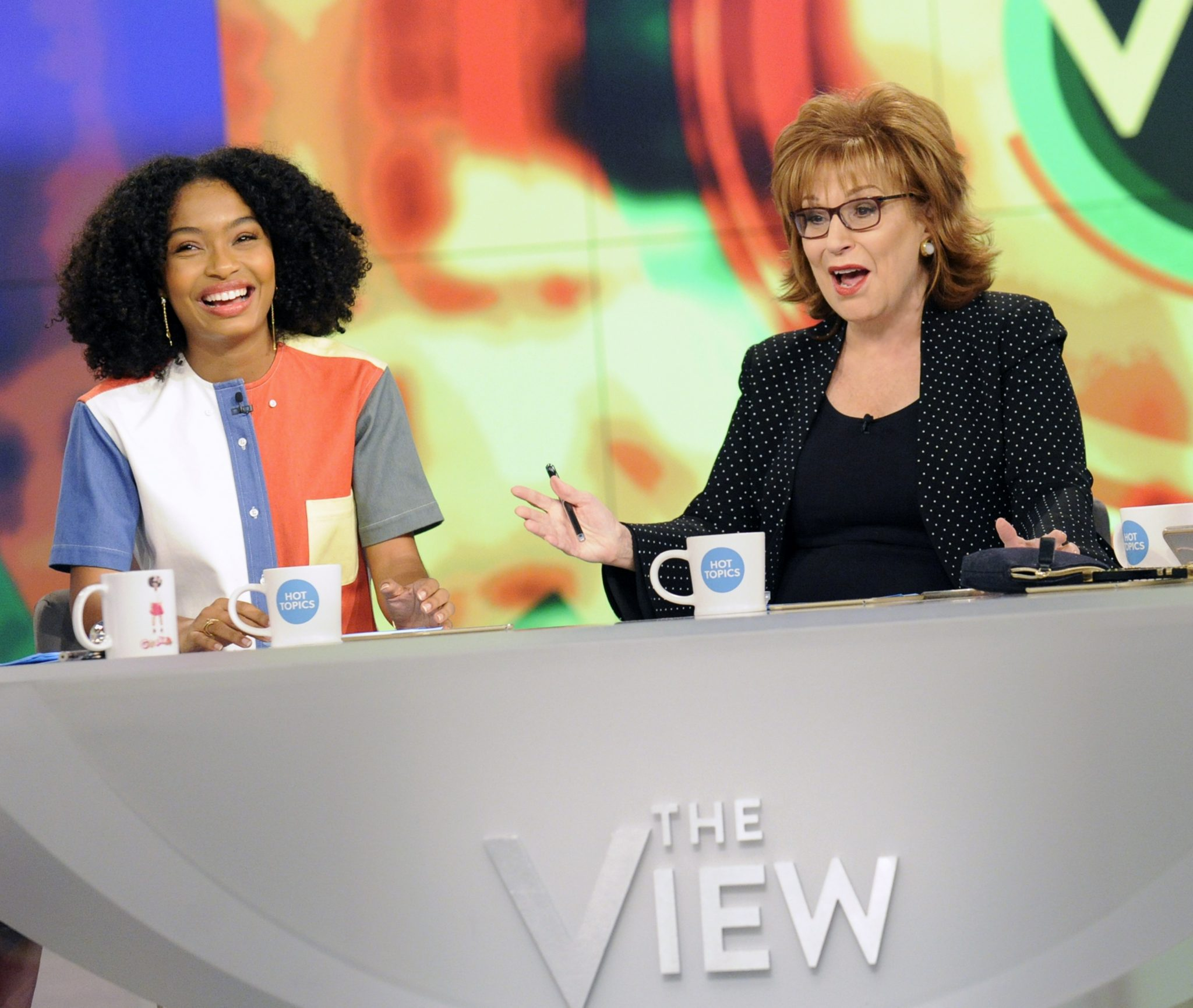 Meghan Mccain Raven: In Case You Missed It: Yara Shahidi On The View