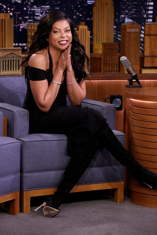 In Case You Missed It: Taraji P. Henson On The Tonight Show Starring Jimmy Fallon