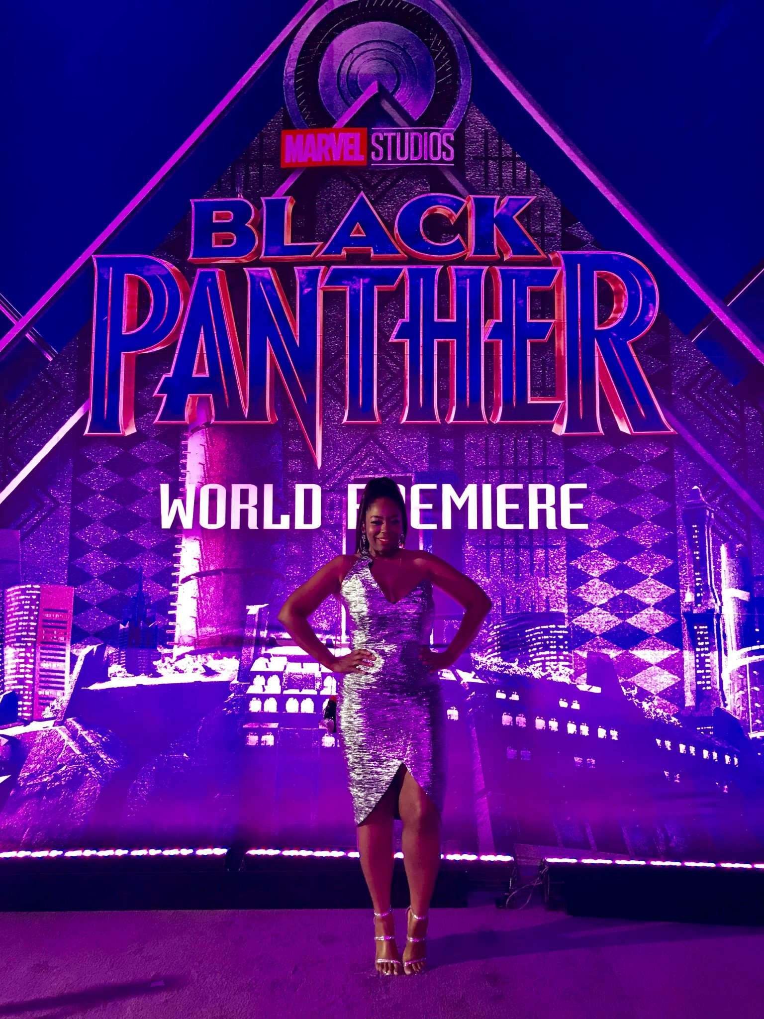 My Black Panther Hollywood World Premiere Red Carpet Experience