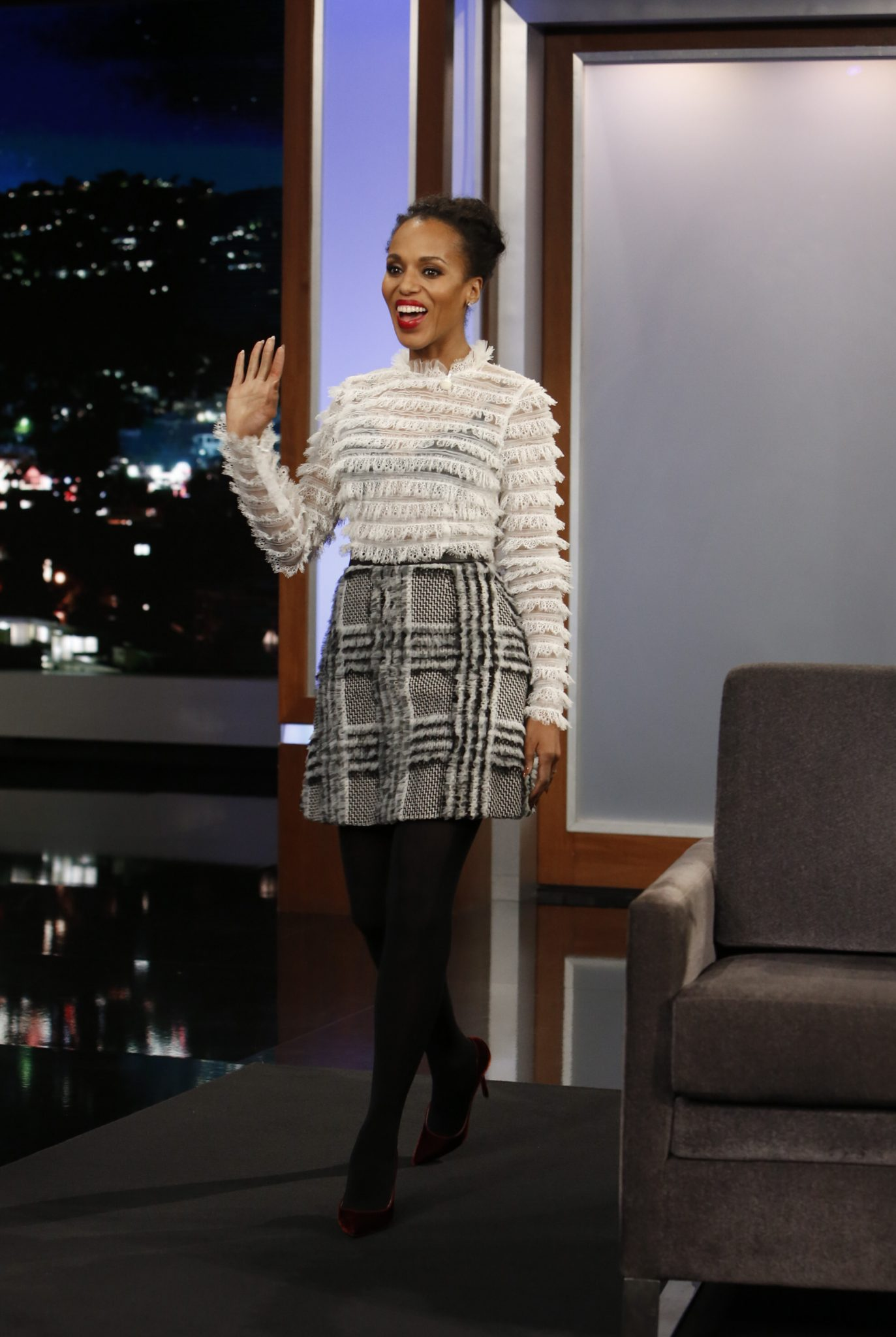 In Case You Missed It: Kerry Washington On Jimmy Kimmel Live