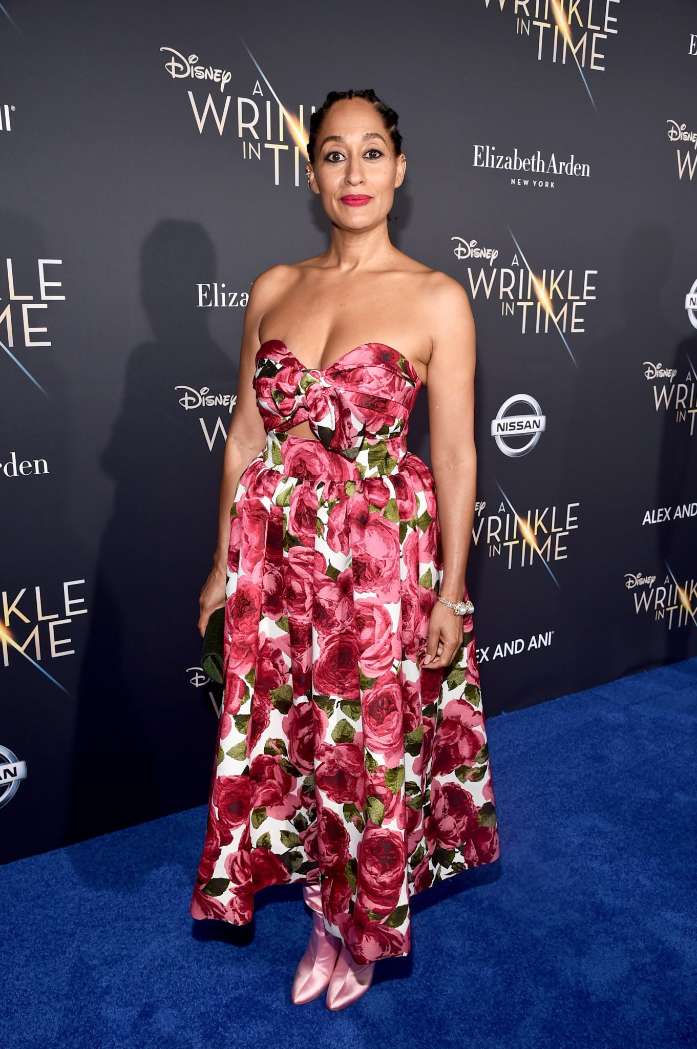 Wardrobe Breakdown: Tracee Ellis Ross At A Wrinkle In Time World Premiere