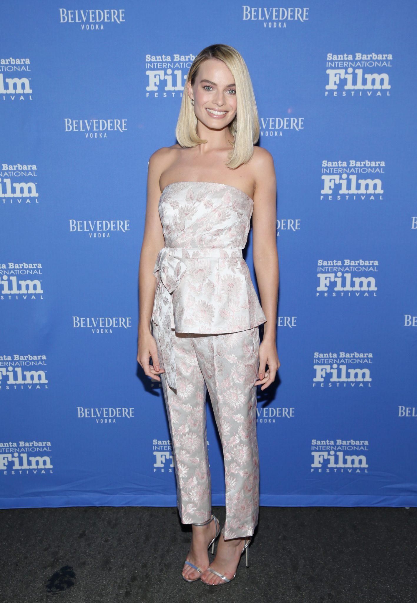Wardrobe Breakdown: Margot Robbie At Santa Barbara International Film Festival