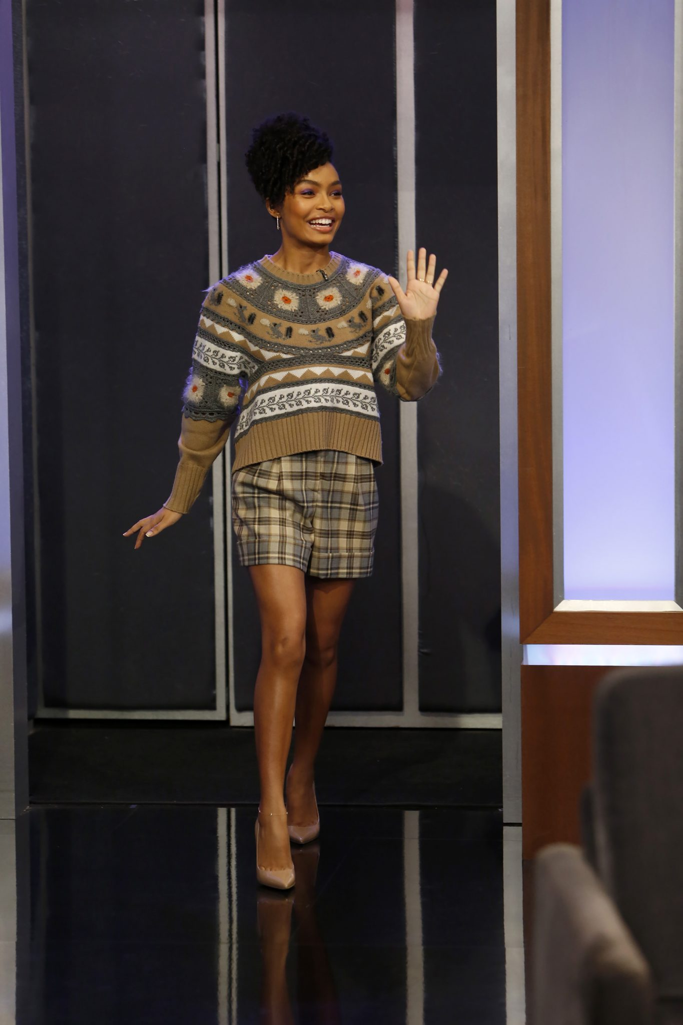 In Case You Missed It: Yara Shahidi On Jimmy Kimmel Live