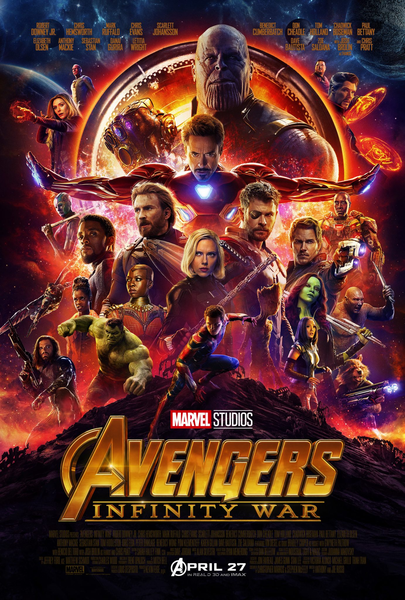 First Look: Marvel Studios' AVENGERS: INFINITY WAR Trailer And Poster
