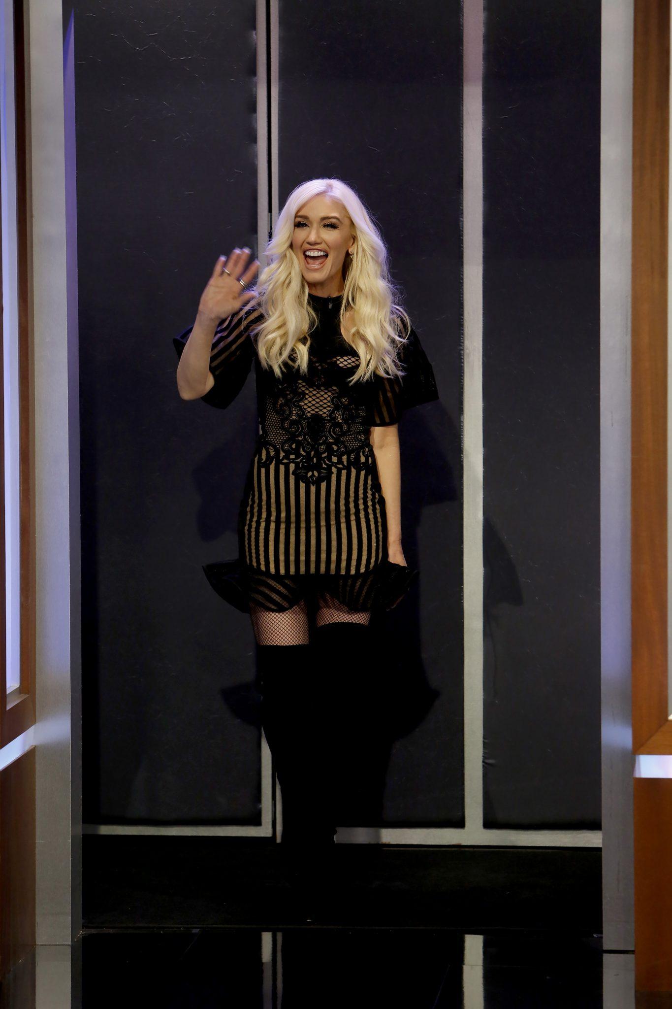 Wardrobe Breakdown: Gwen Stefani On Jimmy Kimmel Live