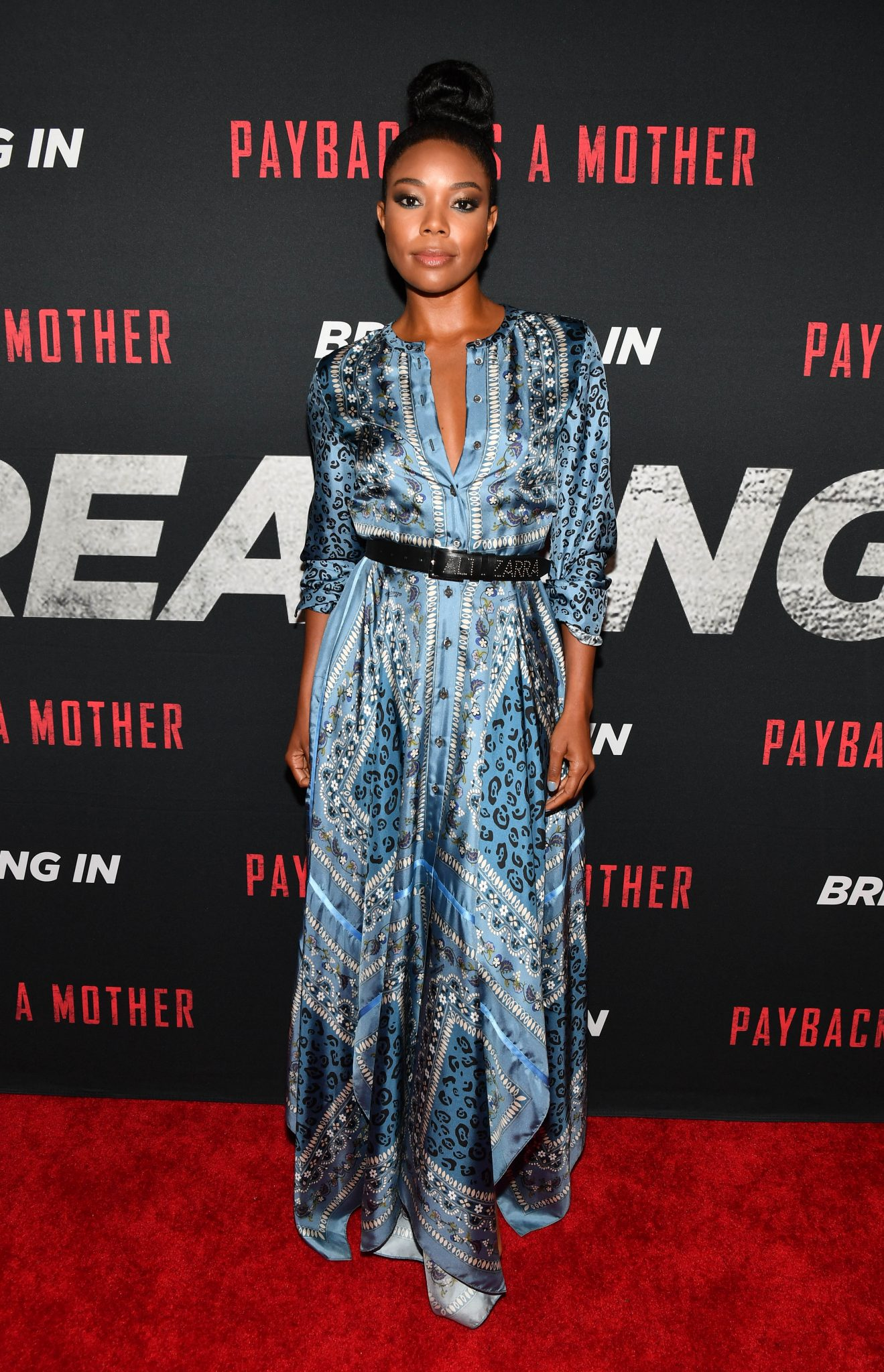 Wardrobe Breakdown: Gabrielle Union At Breaking In Screening