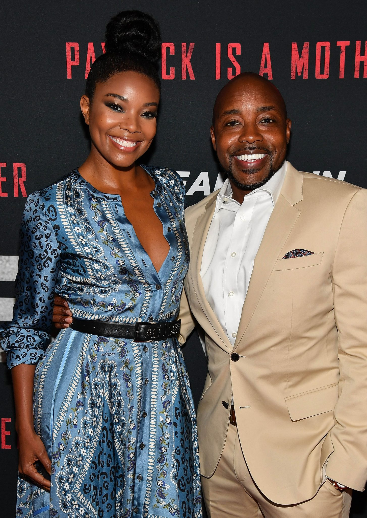 Gabrielle Union & Will Packer At BREAKING IN Atlanta Screening