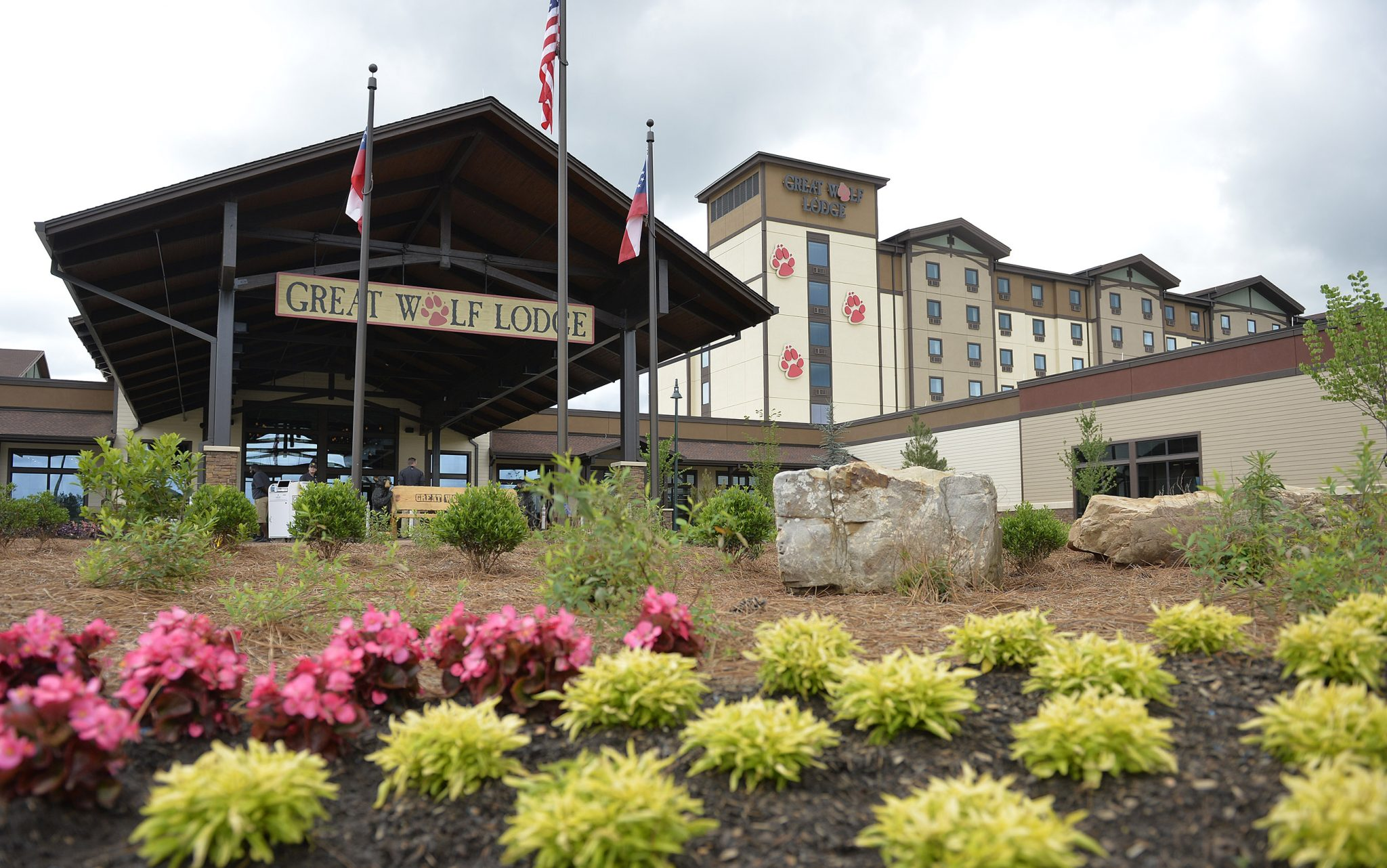 Great Wolf Lodge Georgia Grand Opening