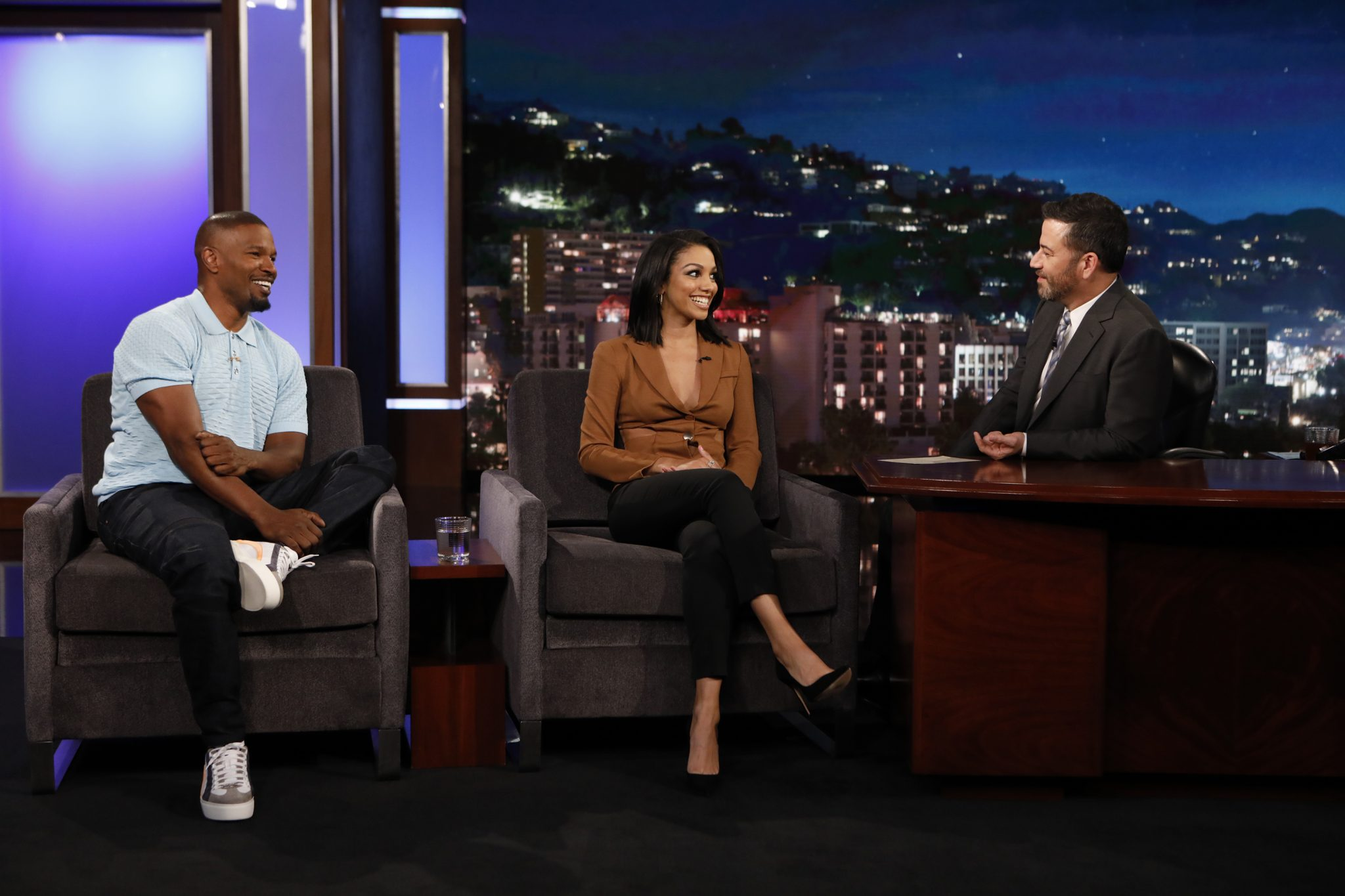 In Case You Missed It: Jamie and Corinne Foxx On Jimmy Kimmel Live