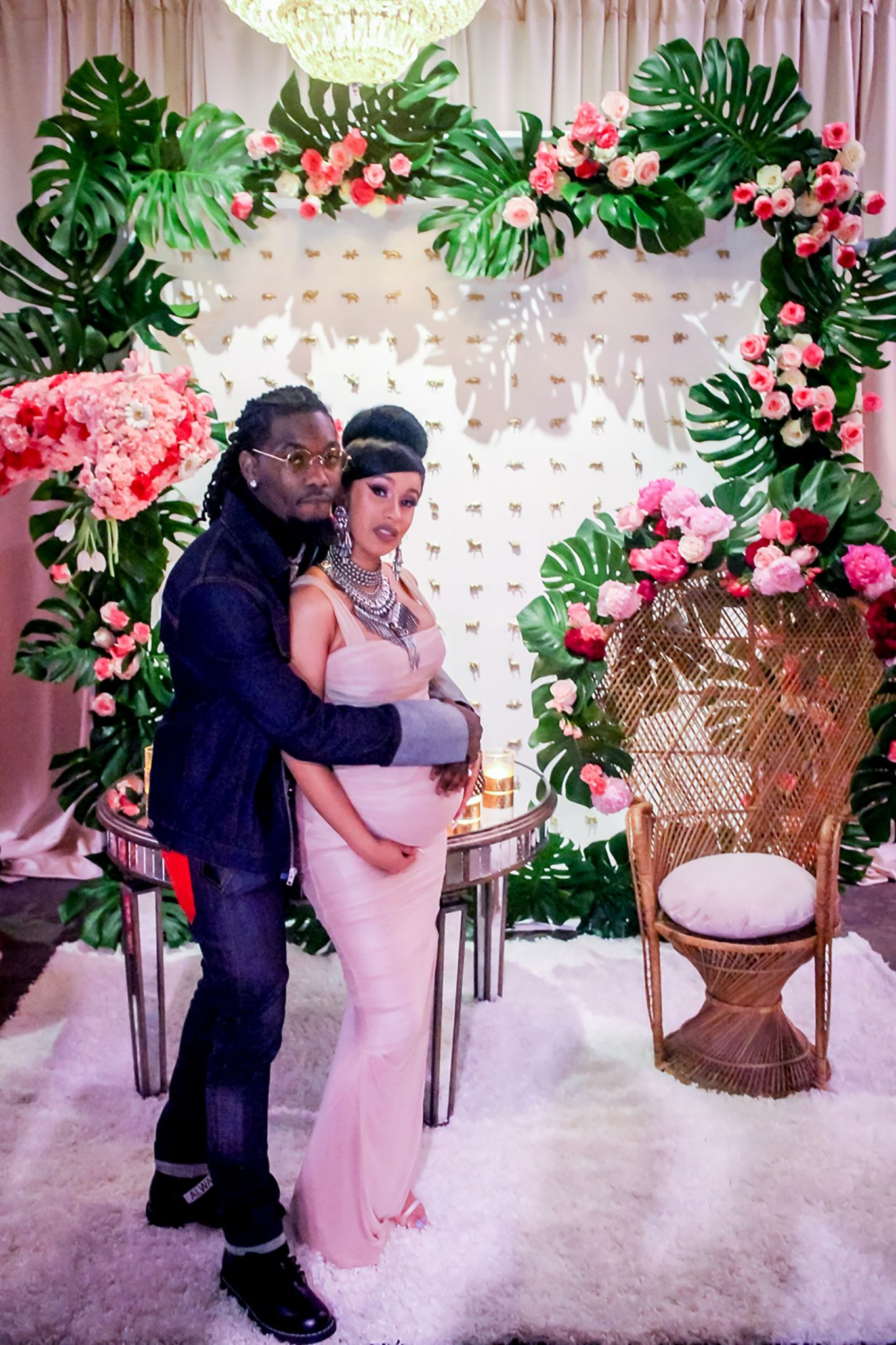 Wardrobe Breakdown: Cardi B's Baby Shower