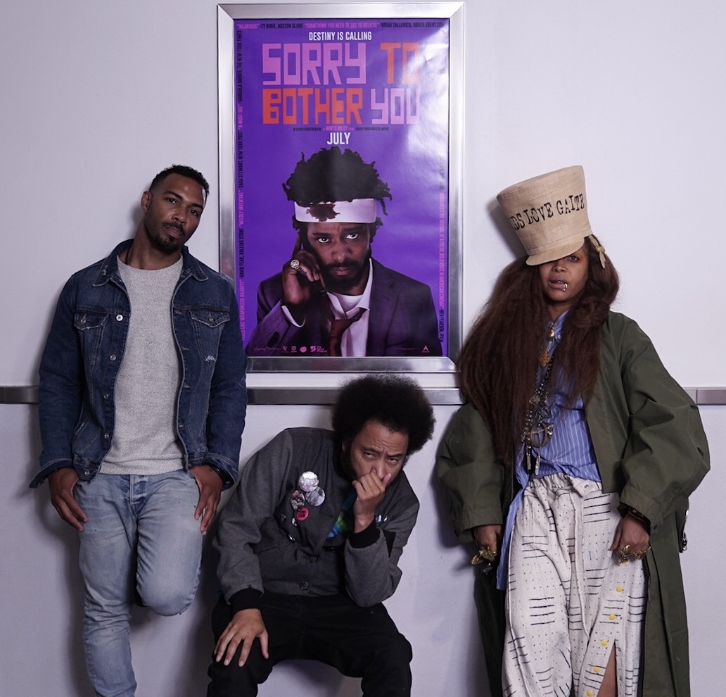 Erykah Badu Hosts Screening Of SORRY TO BOTHER YOU With Omari Hardwick And Boots Riley