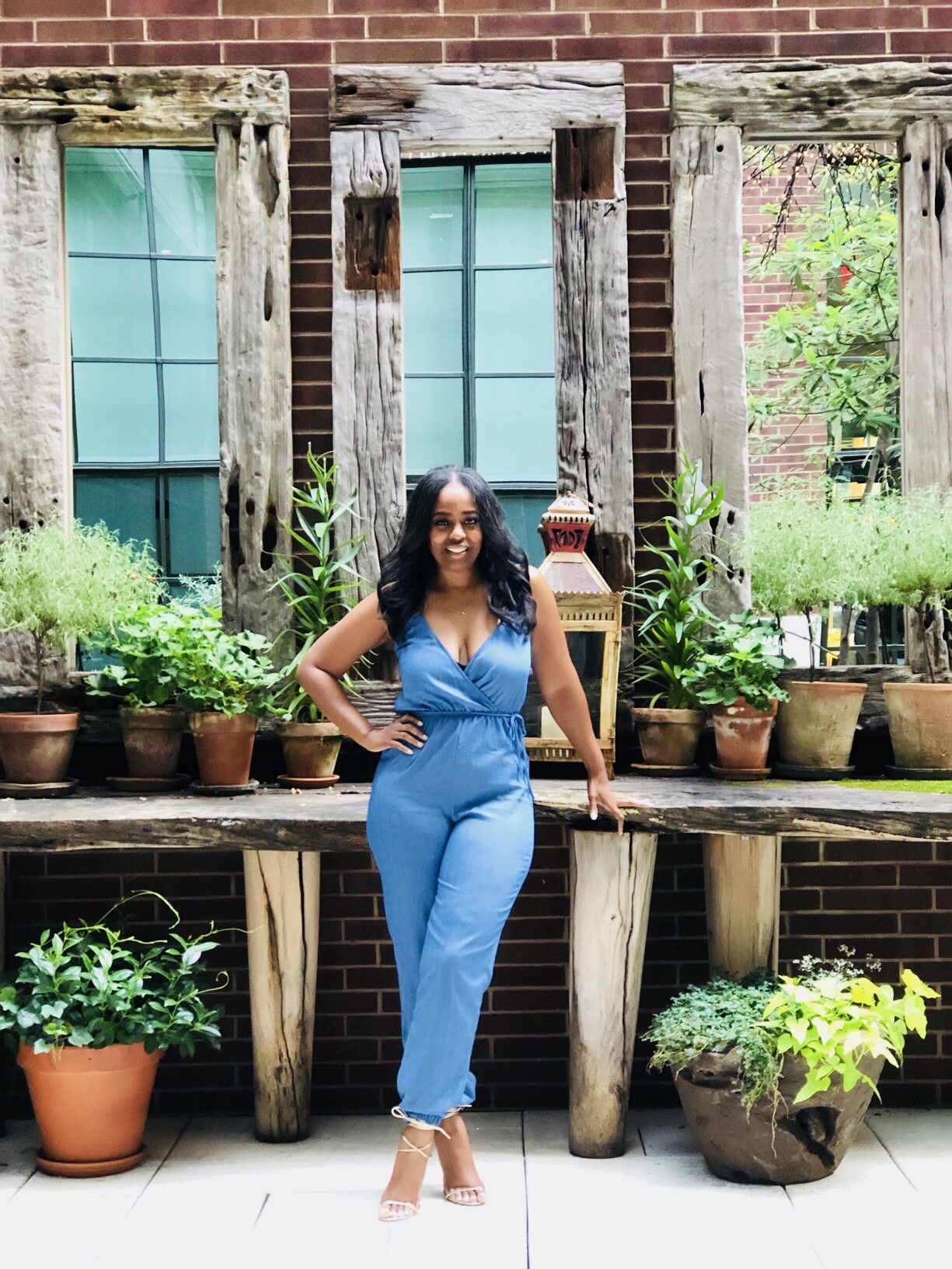 My Style: Chambray Jumpsuit
