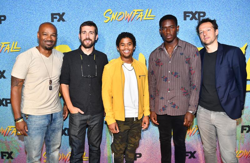 Season 2 Of SnowFall Private Screening And Q&A In Atlanta