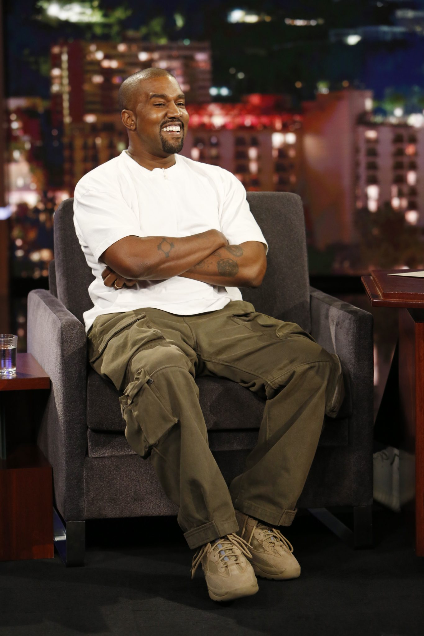 In Case You Missed It: Kanye West On Jimmy Kimmel Live