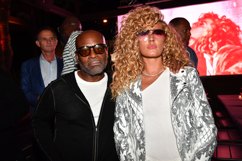 L.A. Reid's Listening Party For New Artist Bonfyre