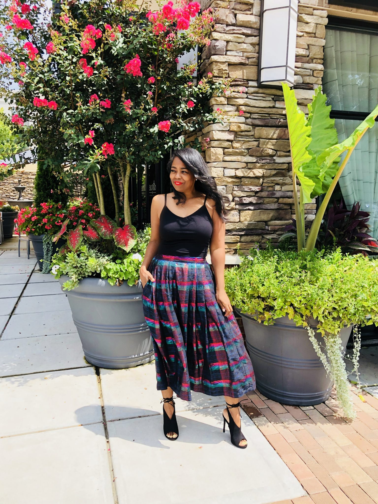 My Style: House Of Layllah Pleated Skirt