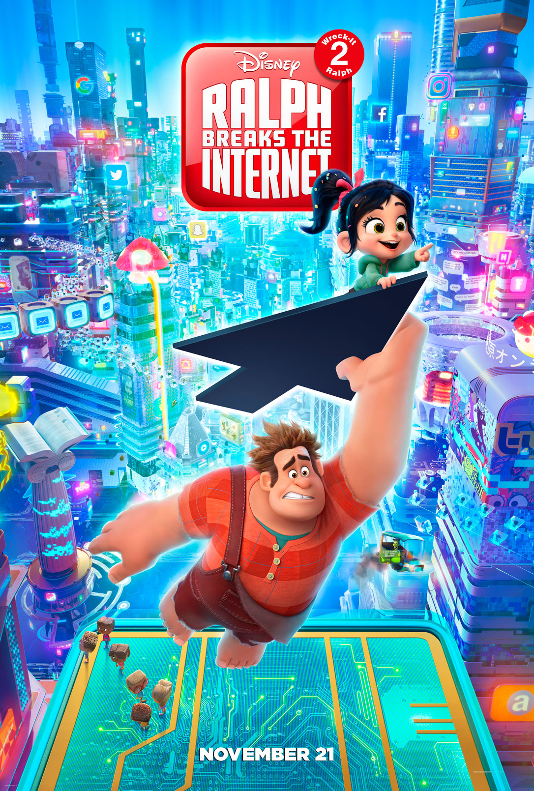 New Movie: RALPH BREAKS THE INTERNET: WRECK-IT RALPH 2