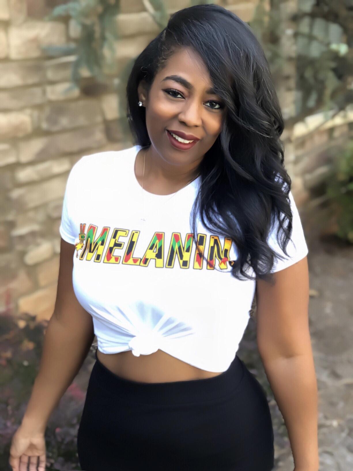 My Style: Amma Melanin African Tee