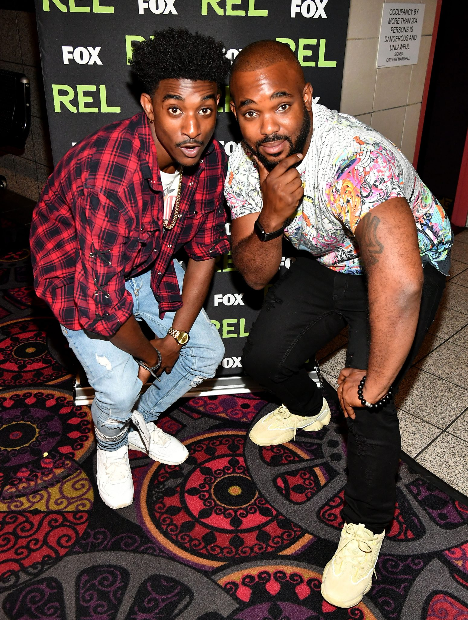 "FOX Screens ""Rel"" In Atlanta; Comedian/Actor Jordan L. Jones Attend"