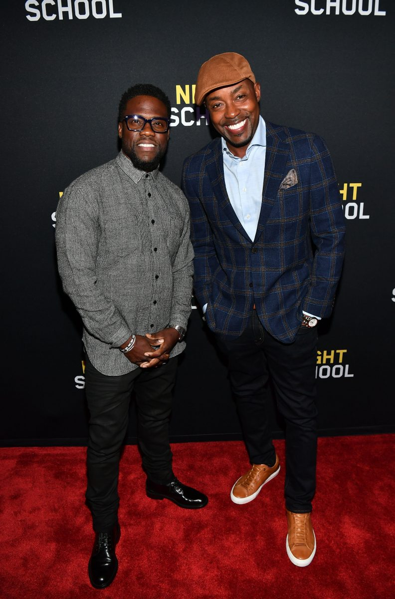will packer and kevin hart attend atlanta screening of new film night school talking with tami. Black Bedroom Furniture Sets. Home Design Ideas