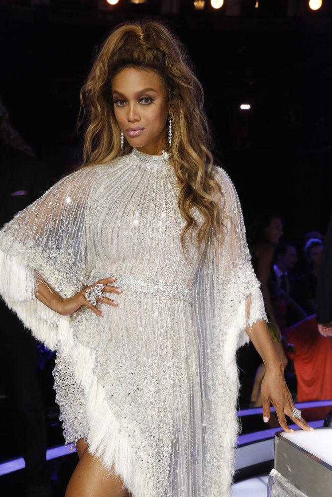 Wardrobe Breakdown: Tyra Banks On Americas Got Talent
