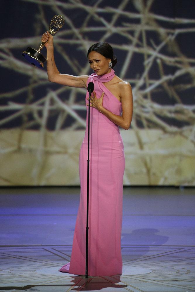 Wardrobe Breakdown: Thandie Newton At Emmys