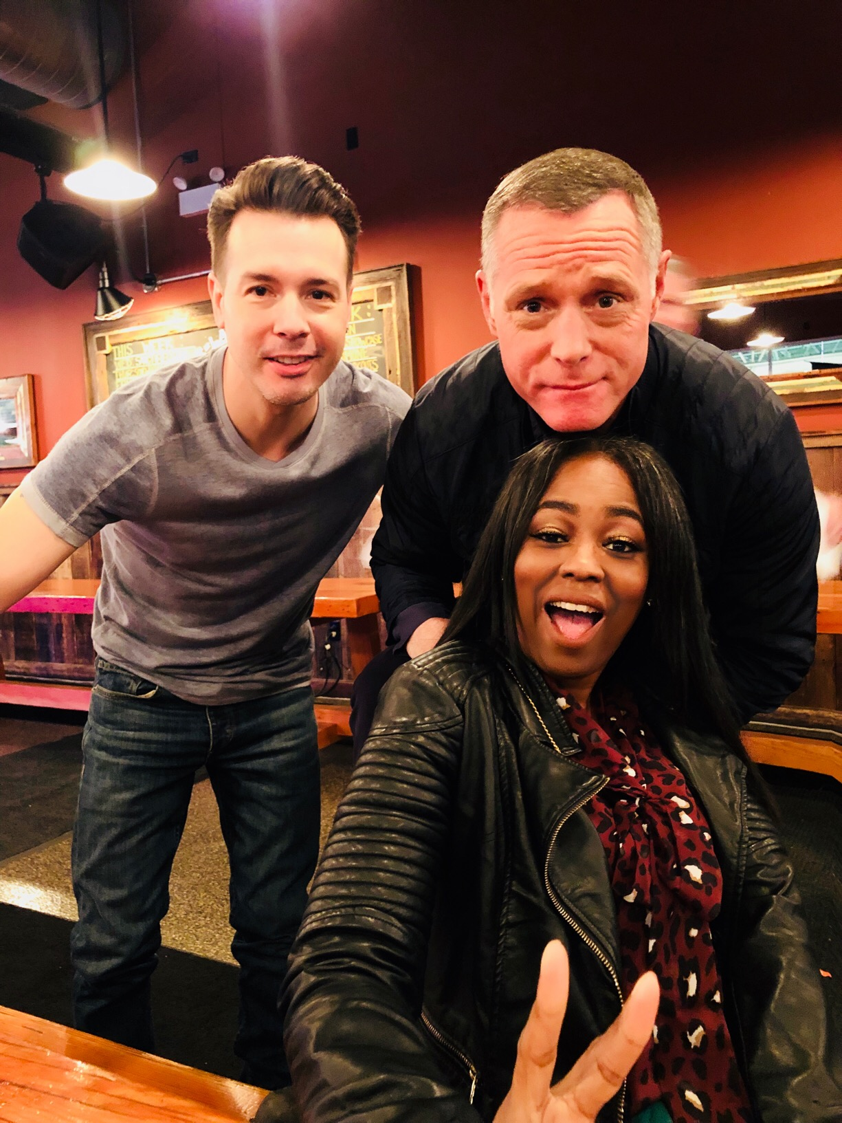 Round Table Discussion With Actors Jason Beghe And Jon Seda From NBC's Chicago P.D.