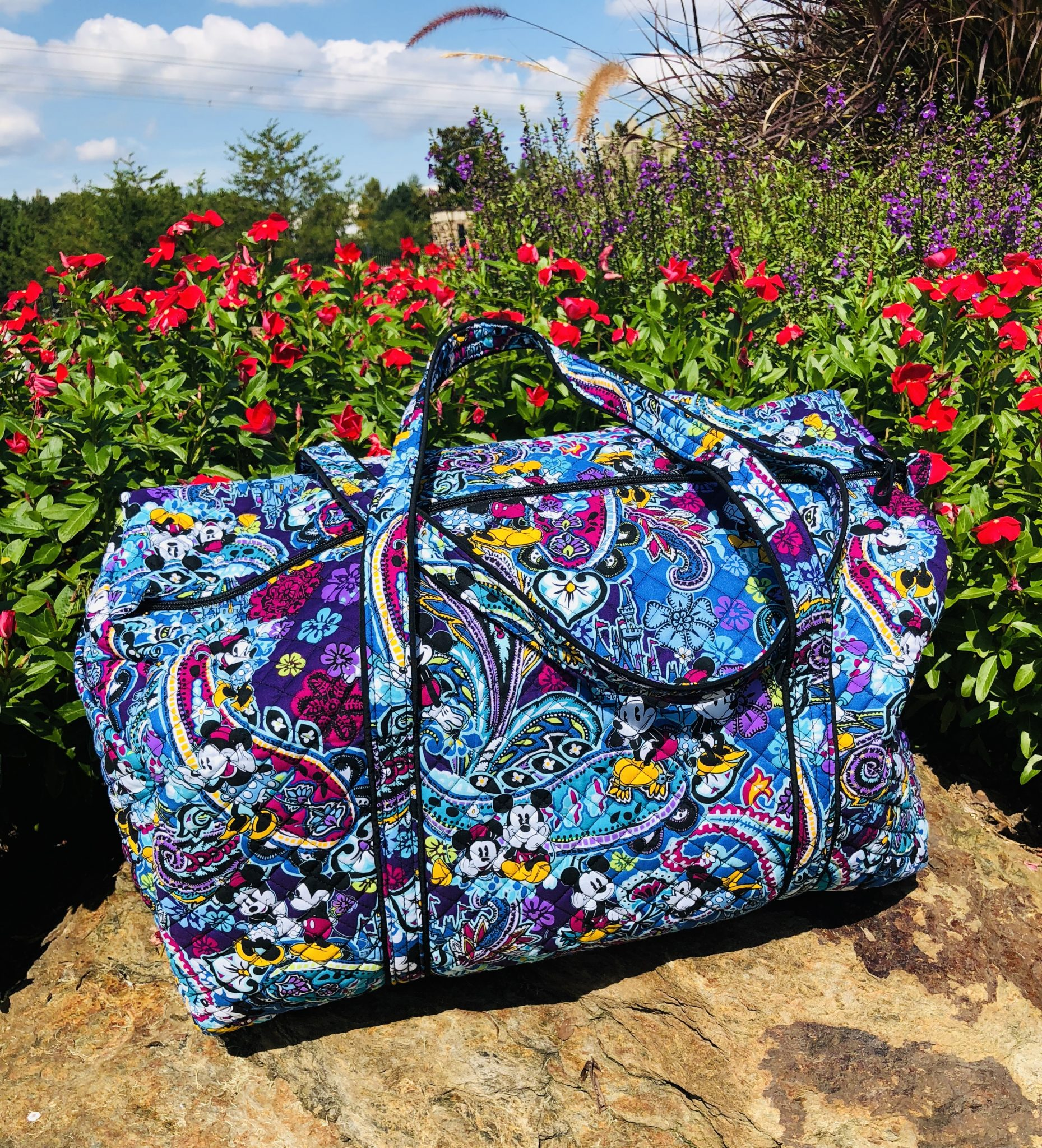Vera Bradley's Mickey's Paisley Celebration Collection