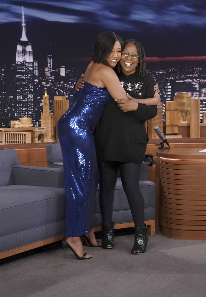 In Case You Missed It: Whoopi Goldberg And Tiffany Haddish On Jimmy Fallon