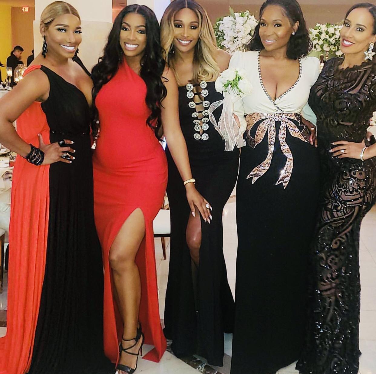 Wardrobe Breakdown: The Real Housewives Of Atlanta Attend Eva Marcille's Wedding
