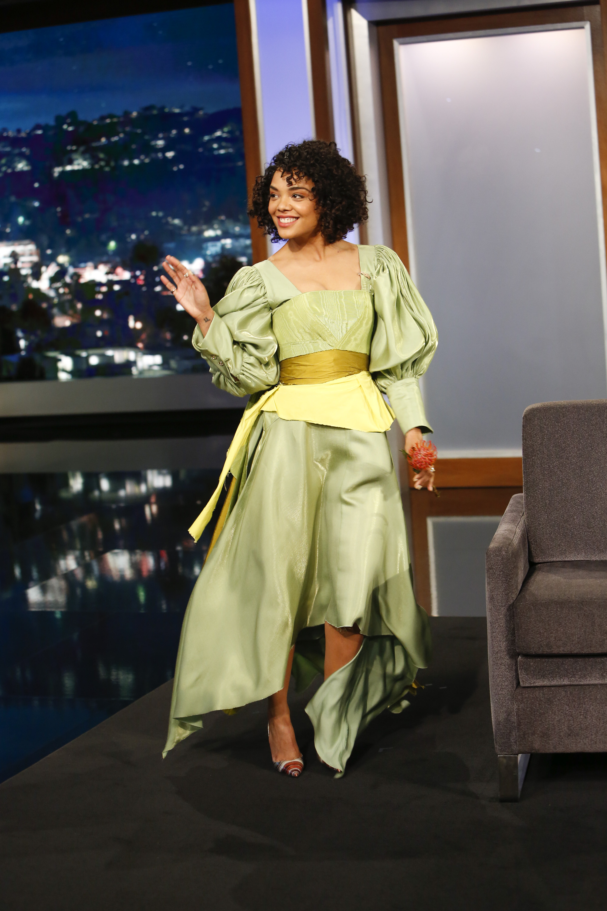 In Case You Missed It: Tessa Thompson On Jimmy Kimmel Live