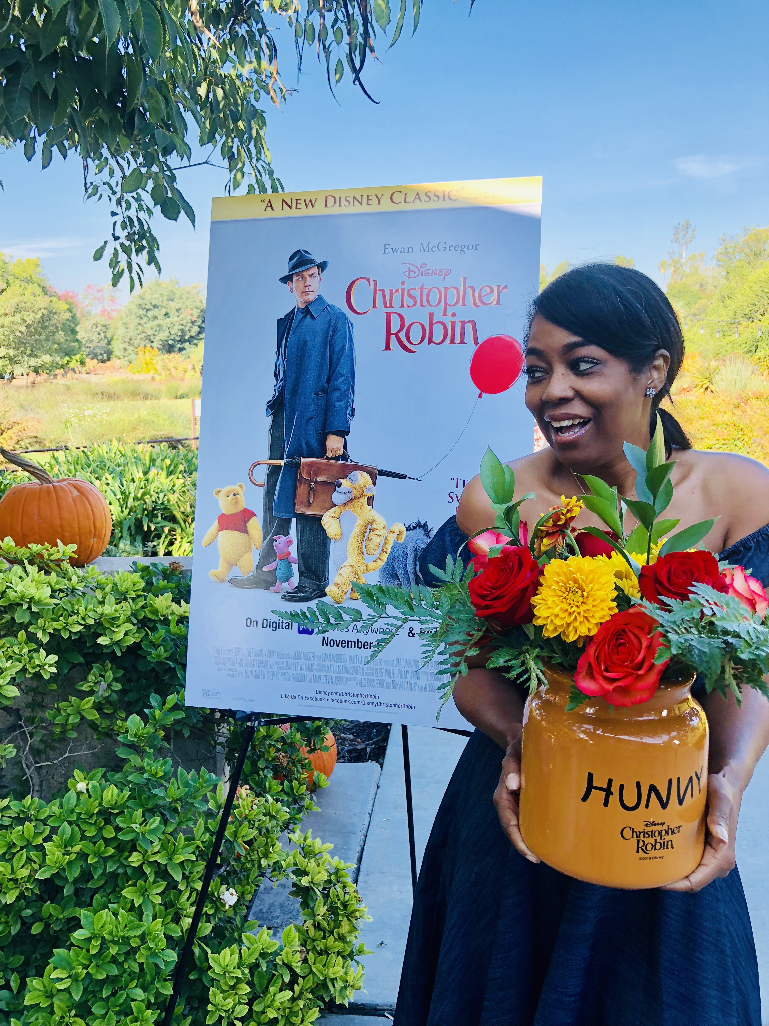 A Floral Arrangement Class & Friendsgiving Luncheon To Celebrate The Digital Release Of Christopher Robin