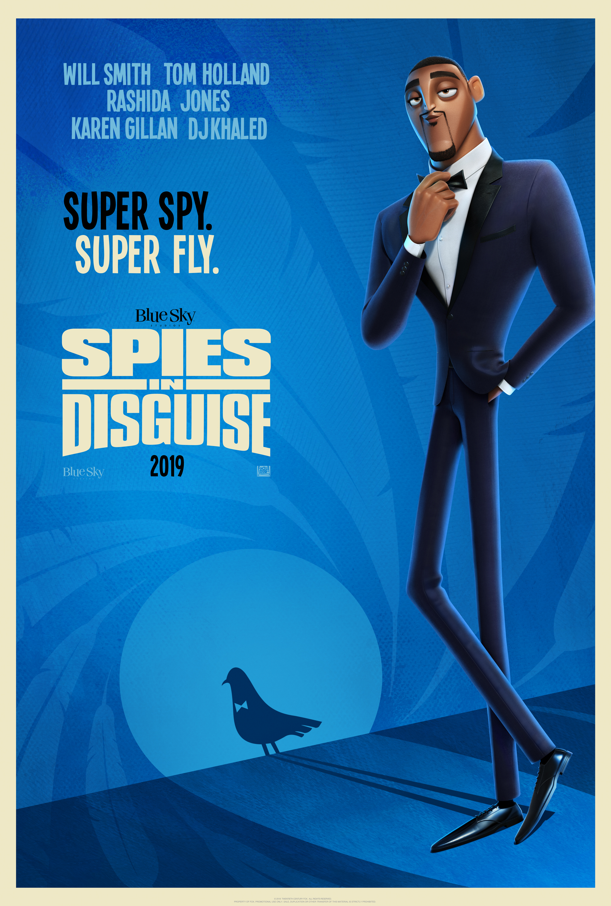 New Movie: Spies In Disguise
