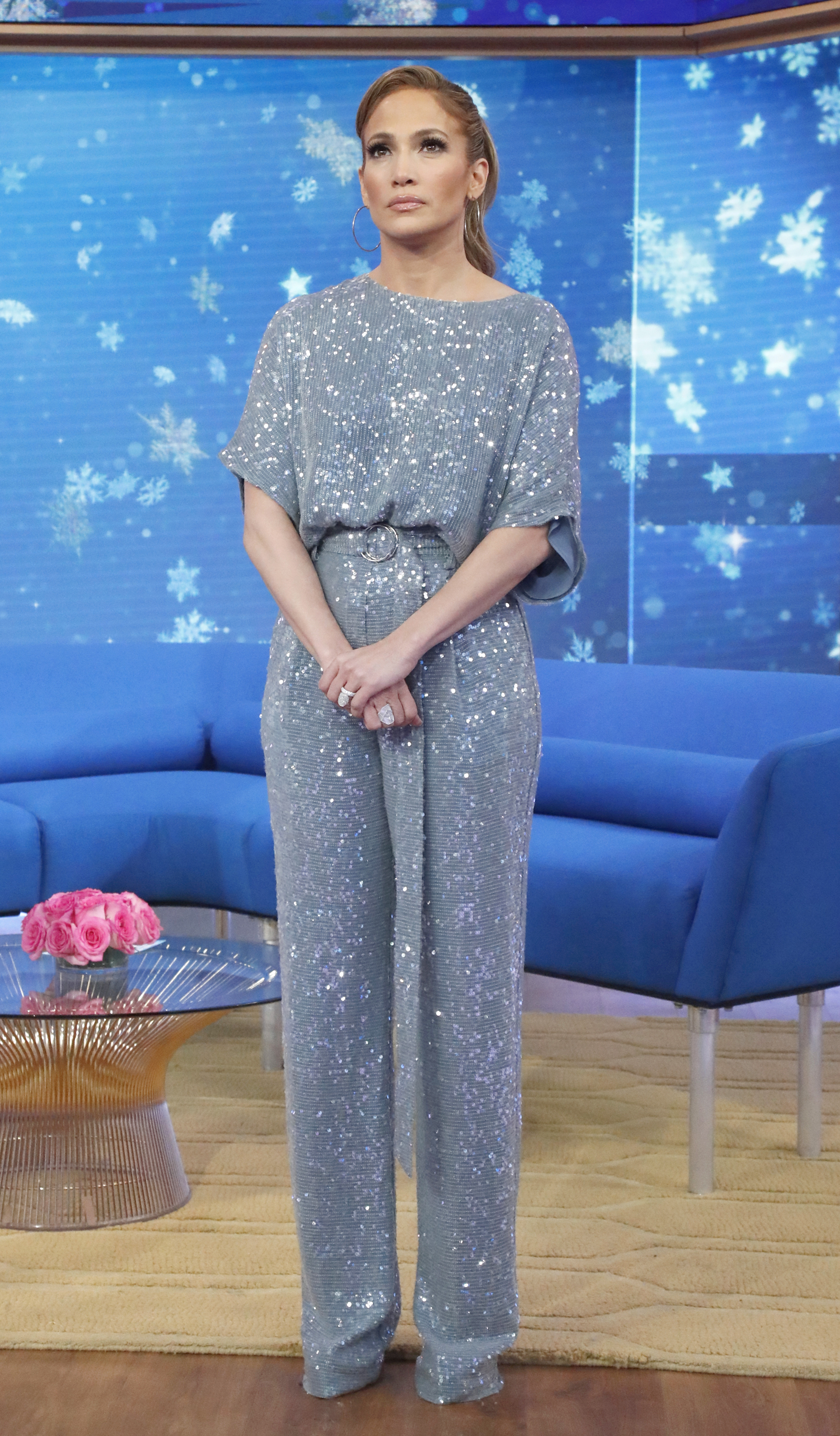Wardrobe Breakdown: J Lo On Good Morning America
