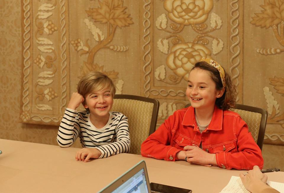 A Sit Down With Child Actors Pixie Davies And Joel Dawson From Mary Poppins Returns