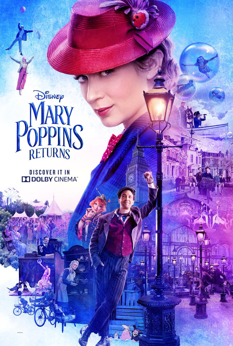 My Review: Disney Mary Poppins Returns