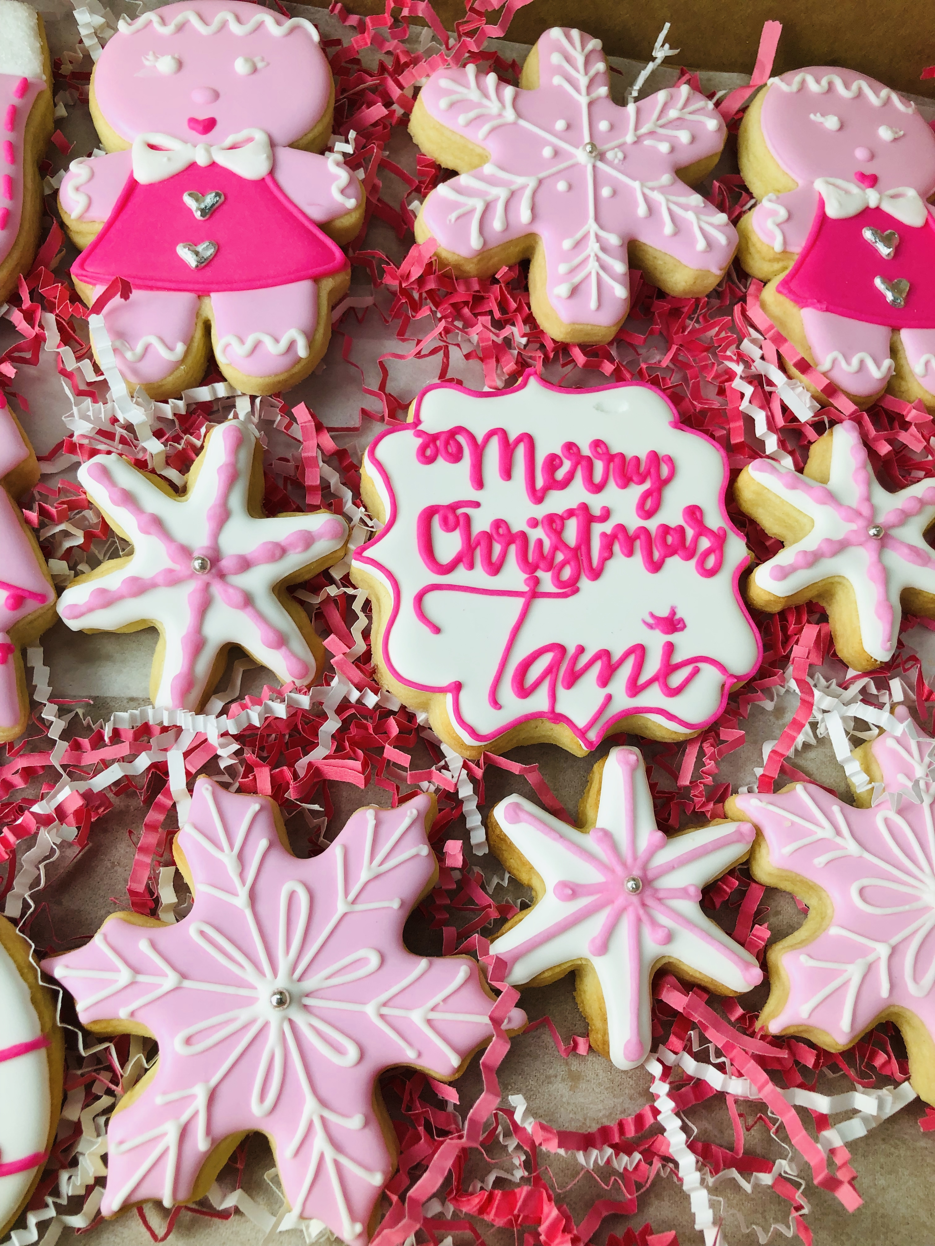 Pum's Sweets Personalized Holiday Cookies