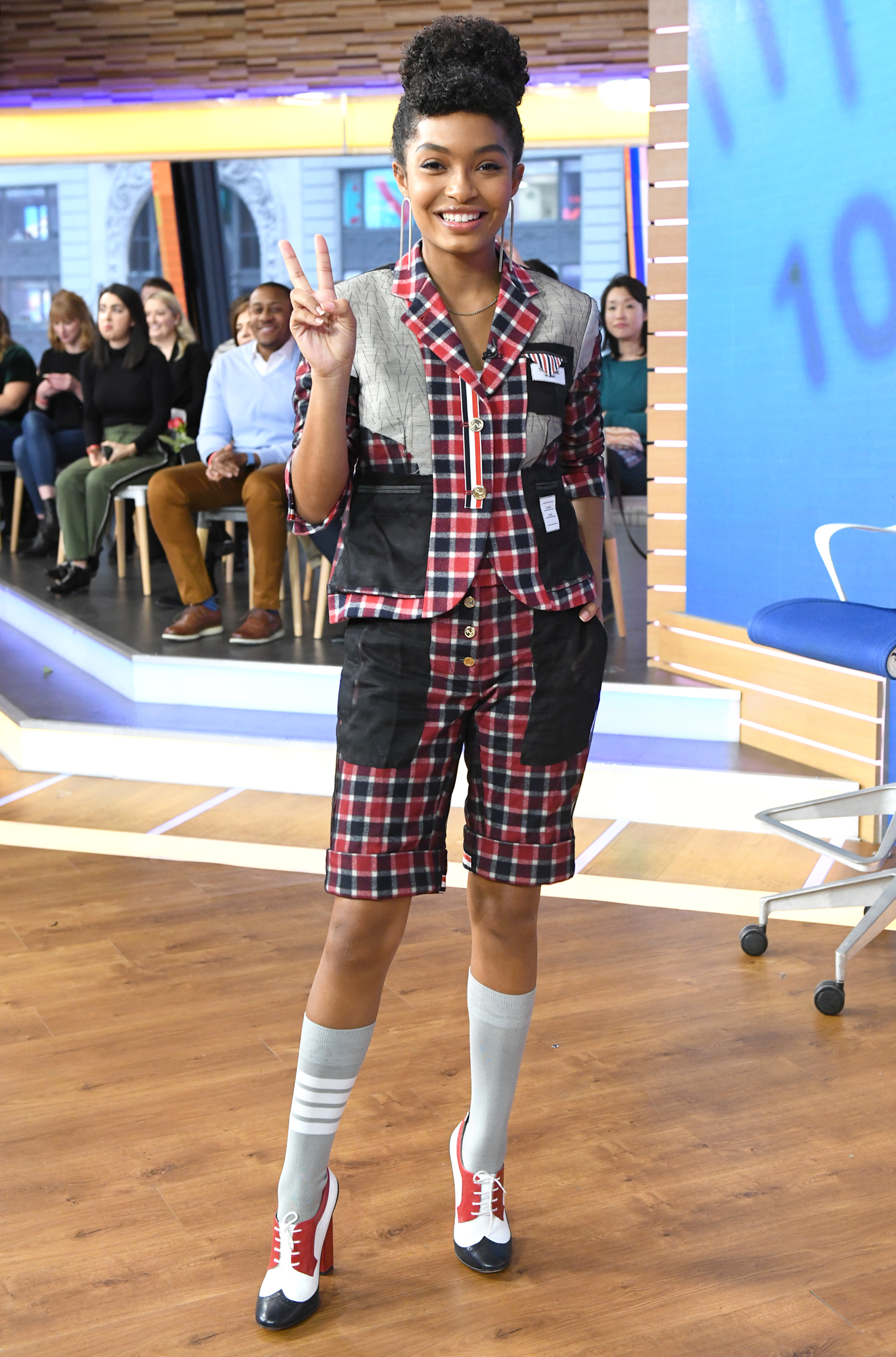 In Case You Missed It: Yara Shahidi On Good Morning America