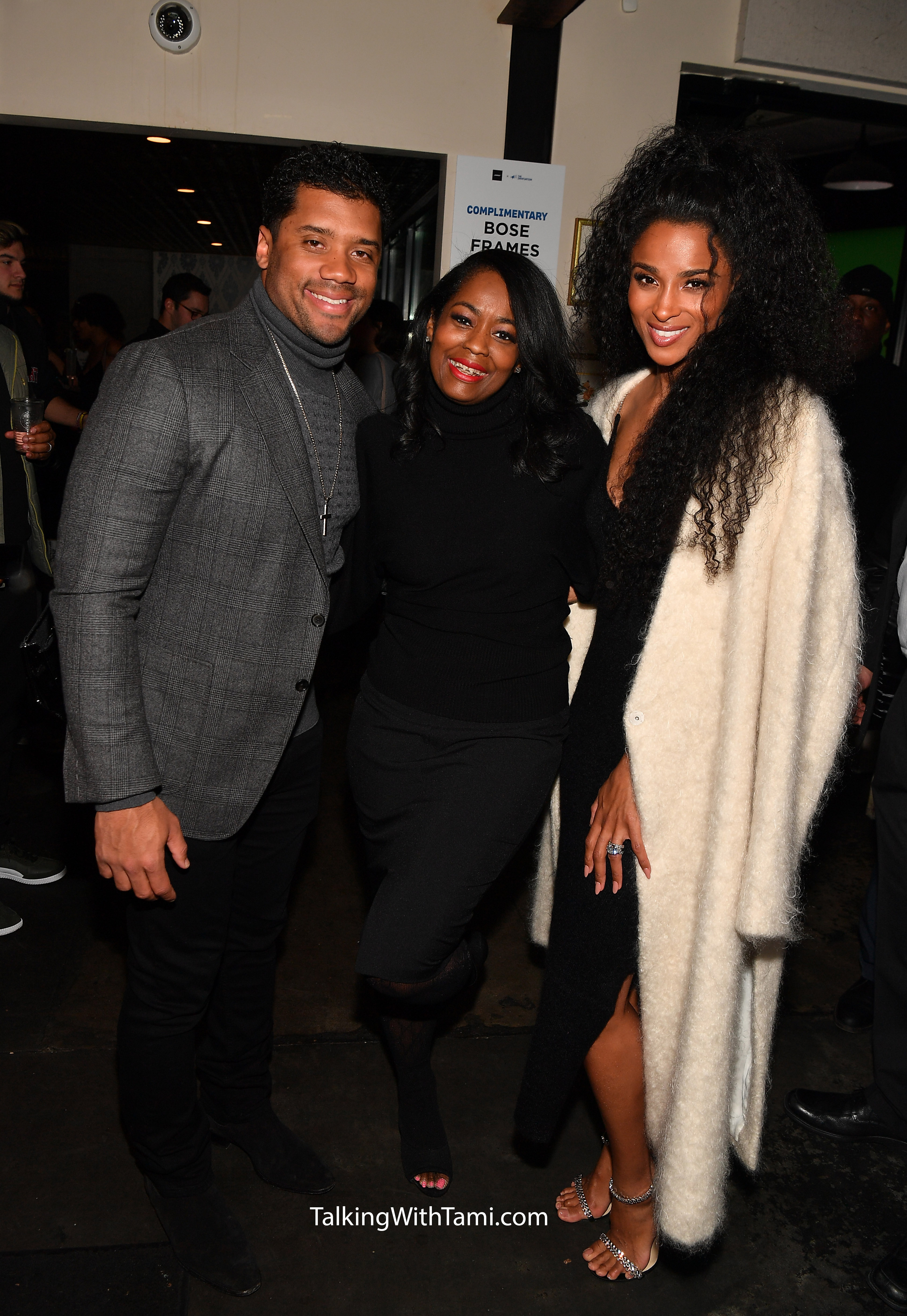 Bose Frames Audio Sunglass Launch In Atlanta Russell Wilson, Ciara And More Attend