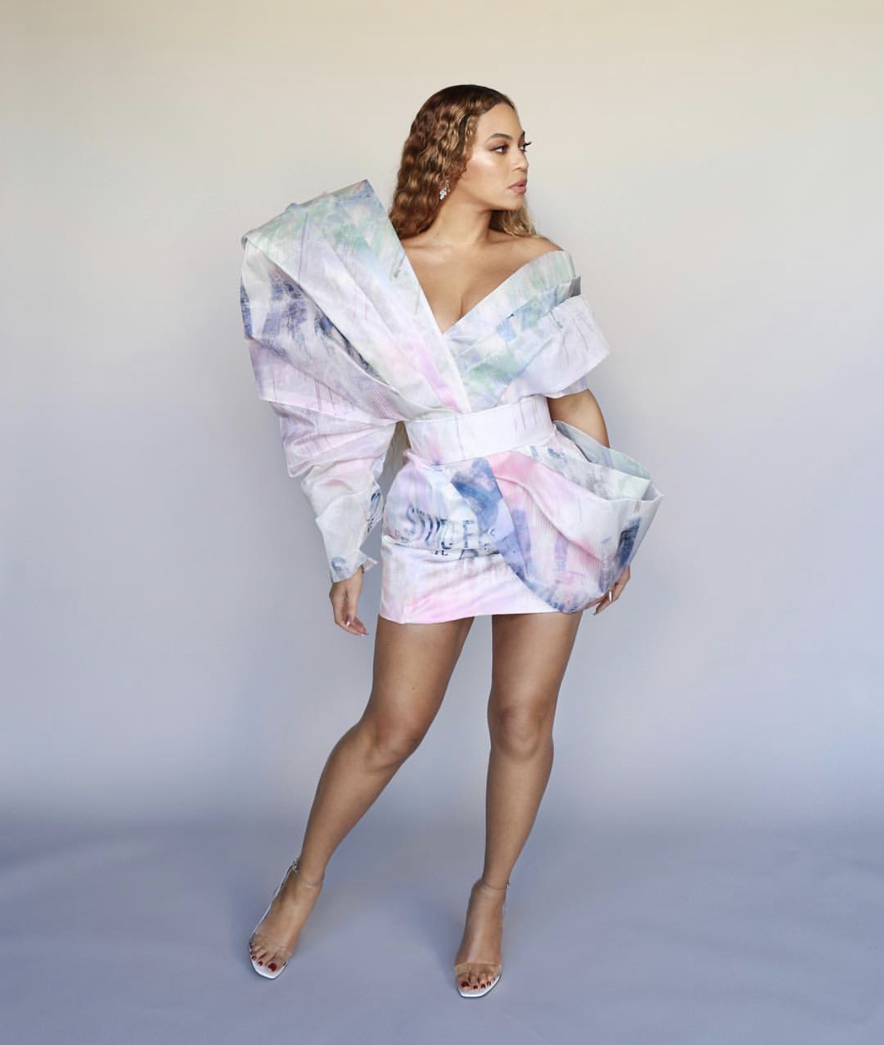 Wardrobe Breakdown: Beyonce At Roc Nation Pre Grammy Brunch