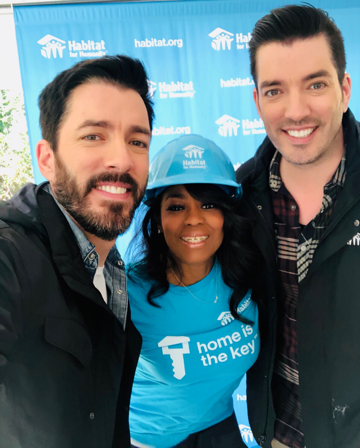 "Habitat For Humanity ""Home is the Key"" With Property Brothers Drew & Jonathan Scott"