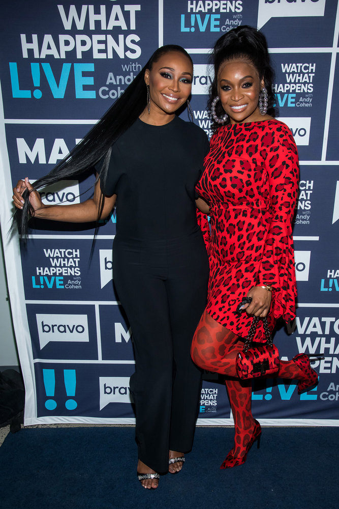 In Case You Missed It: Cynthia Bailey And Marlo Hampton On Watch What Happens Live