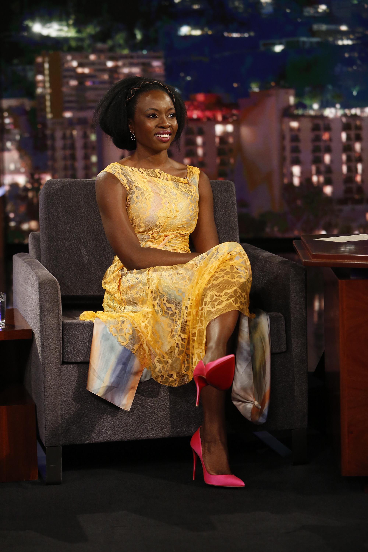 Wardrobe Breakdown: Danai Gurira On Jimmy Kimmel Live